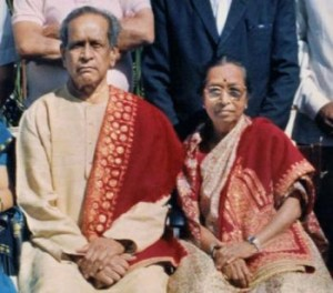 Gangubai with bhimsen joshi