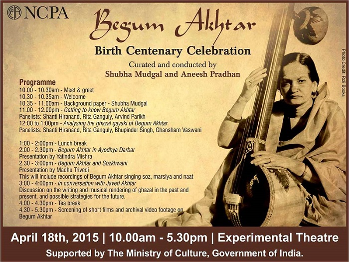 Begum Akhtar_birth centenary