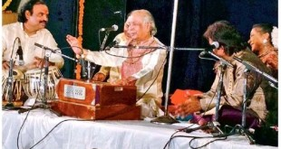 Birju maharaj as a singer and tabla player