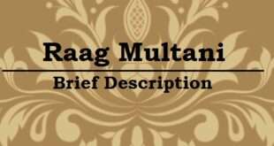 Raag Multani_Information