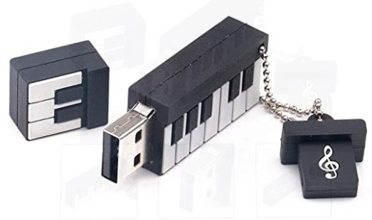 Piano Keyboard USB 2GB